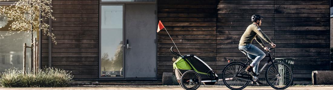 Multisportieve kinderwagens en fietskarren